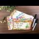 Happy Birthday Cupcakes Bookmark Awards Alternate Image A