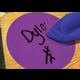 "Spot On Dry Erase Desktop Writing Spots Colorful Circles 4"" Alternate Image B"