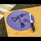 "Spot On Dry Erase Desktop Writing Spots Bright Circles 7"" Alternate Image A"