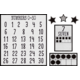 Modern Farmhouse Numbers 0-20 Bulletin Board Alternate Image A