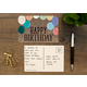 Home Sweet Classroom Happy Birthday Postcards Alternate Image B