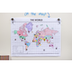 Travel the Map Airplanes Mini Stickers Alternate Image B