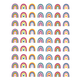 Oh Happy Day Rainbows Mini Stickers Alternate Image A
