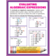 Algebraic Expressions & Equations Poster Set Alternate Image B