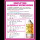 Algebraic Expressions & Equations Poster Set Alternate Image C