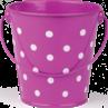 TCR20826 Purple Polka Dots Bucket