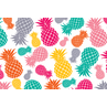 TCR3483 Tropical Punch Pineapples Postcards
