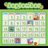 TCR4188 Polka Dot School Calendar Bulletin Board