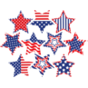TCR5285 Patriotic Fancy Stars Accents