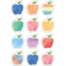 TCR5635 Watercolor Apples Mini Accents
