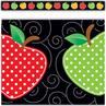 TCR5637 Dotty Apples Straight Border Trim