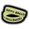 TCR6119 Happy Halloween Glow-in-the-Dark Wristbands 10-Pack