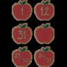 TCR8701 Home Sweet Classroom Apples Calendar Days