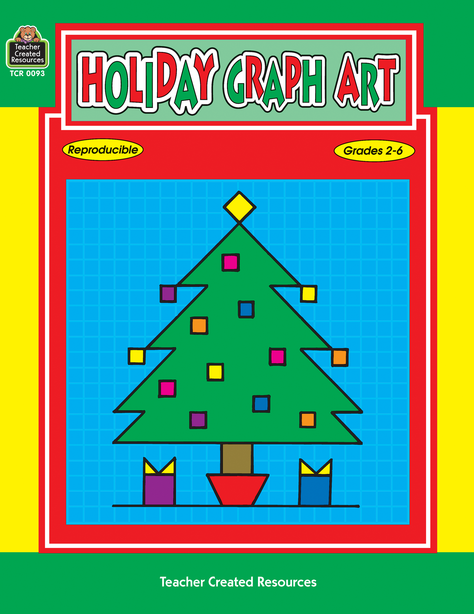 Worksheets Teacher Created Materials Inc Worksheets holiday graph art tcr0093 teacher created resources