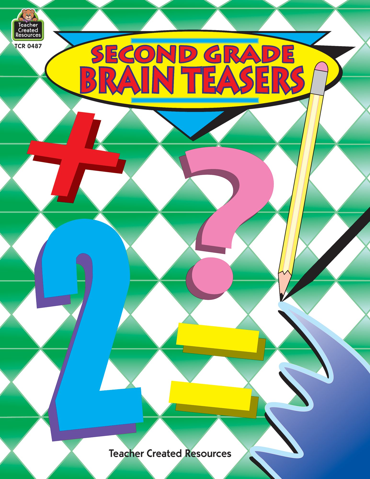Second Grade Brain Teasers TCR0487 – Teacher Created Resources Worksheets