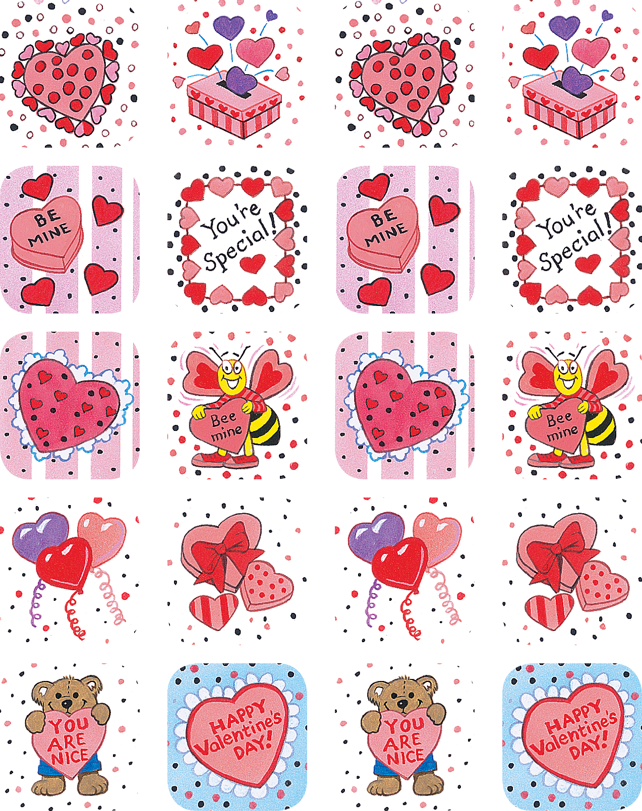 valentines day stickers tcr1258 teacher created resources - Valentines Day Stickers