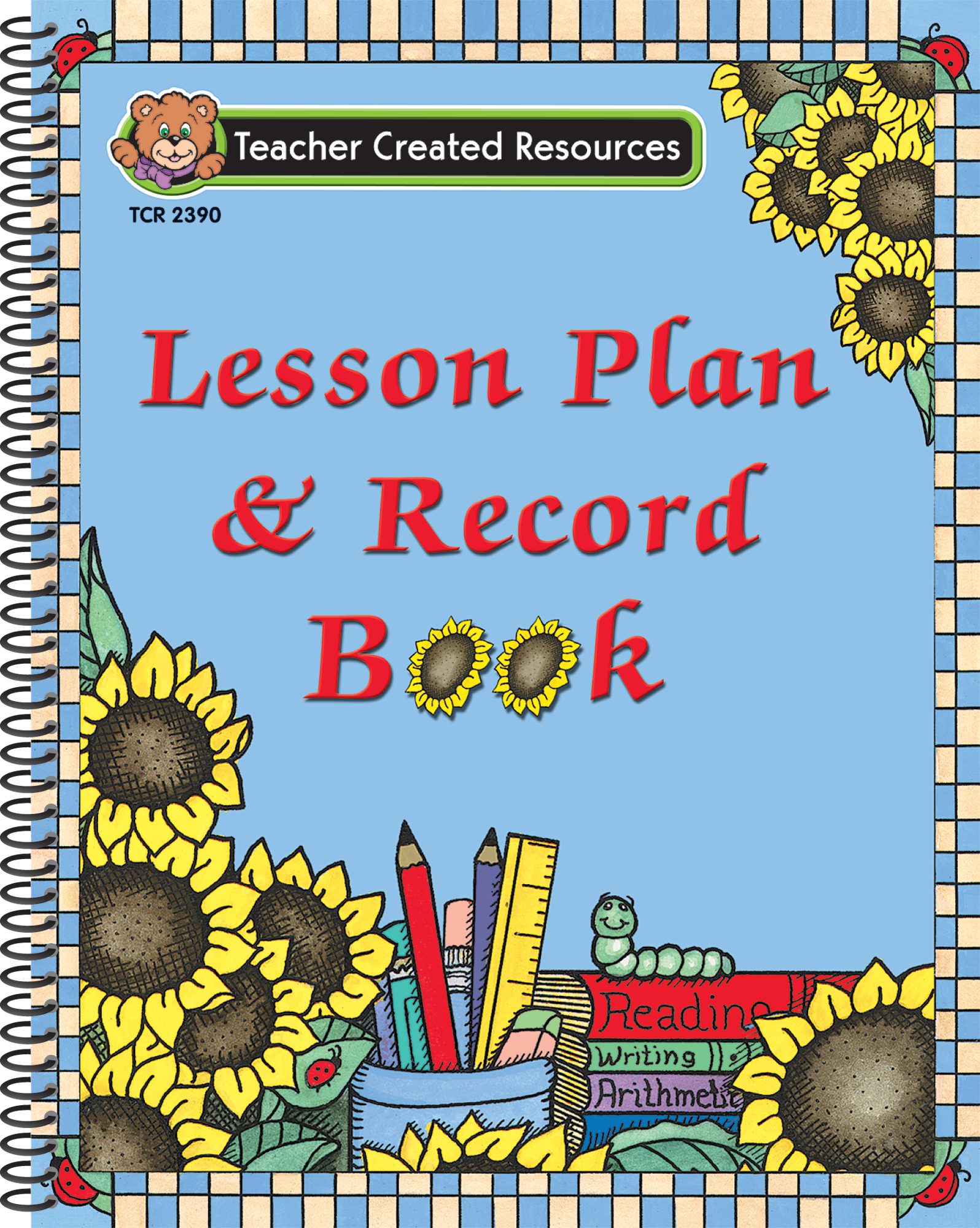 Free Classroom Decoration Resources ~ Sunflowers lesson plan record book tcr teacher