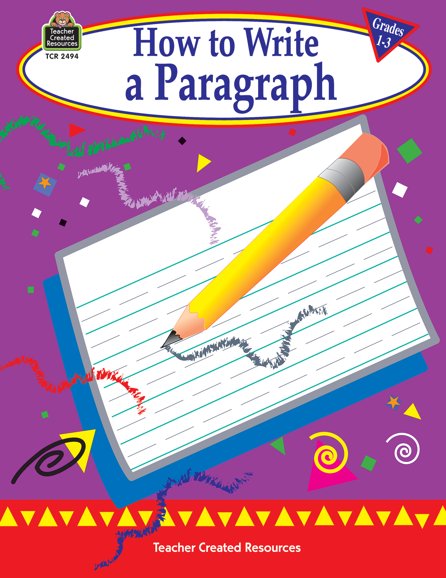 how to write a paragraph  grades 1-3