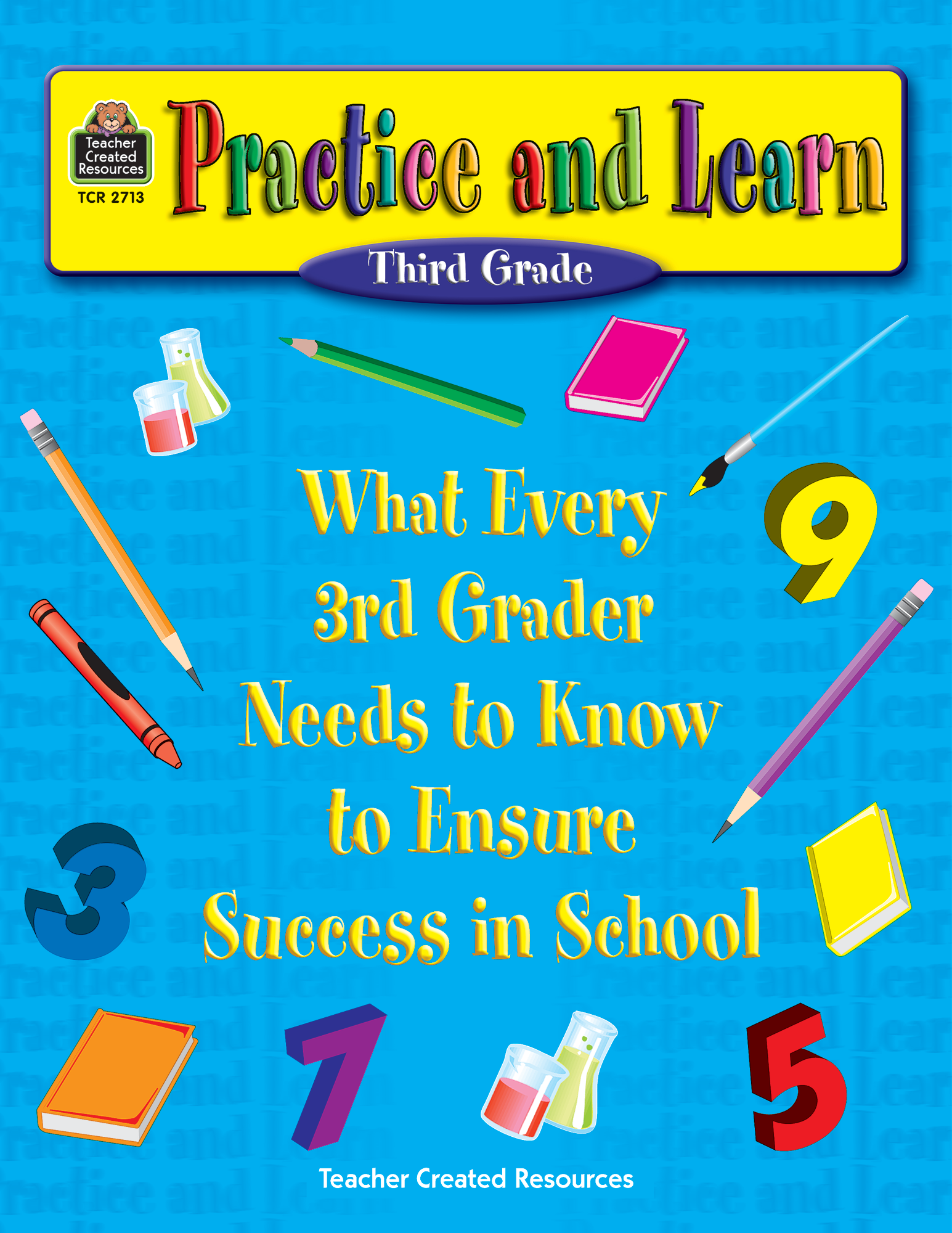 Practice and Learn: 3rd Grade - TCR2713 | Teacher Created Resources