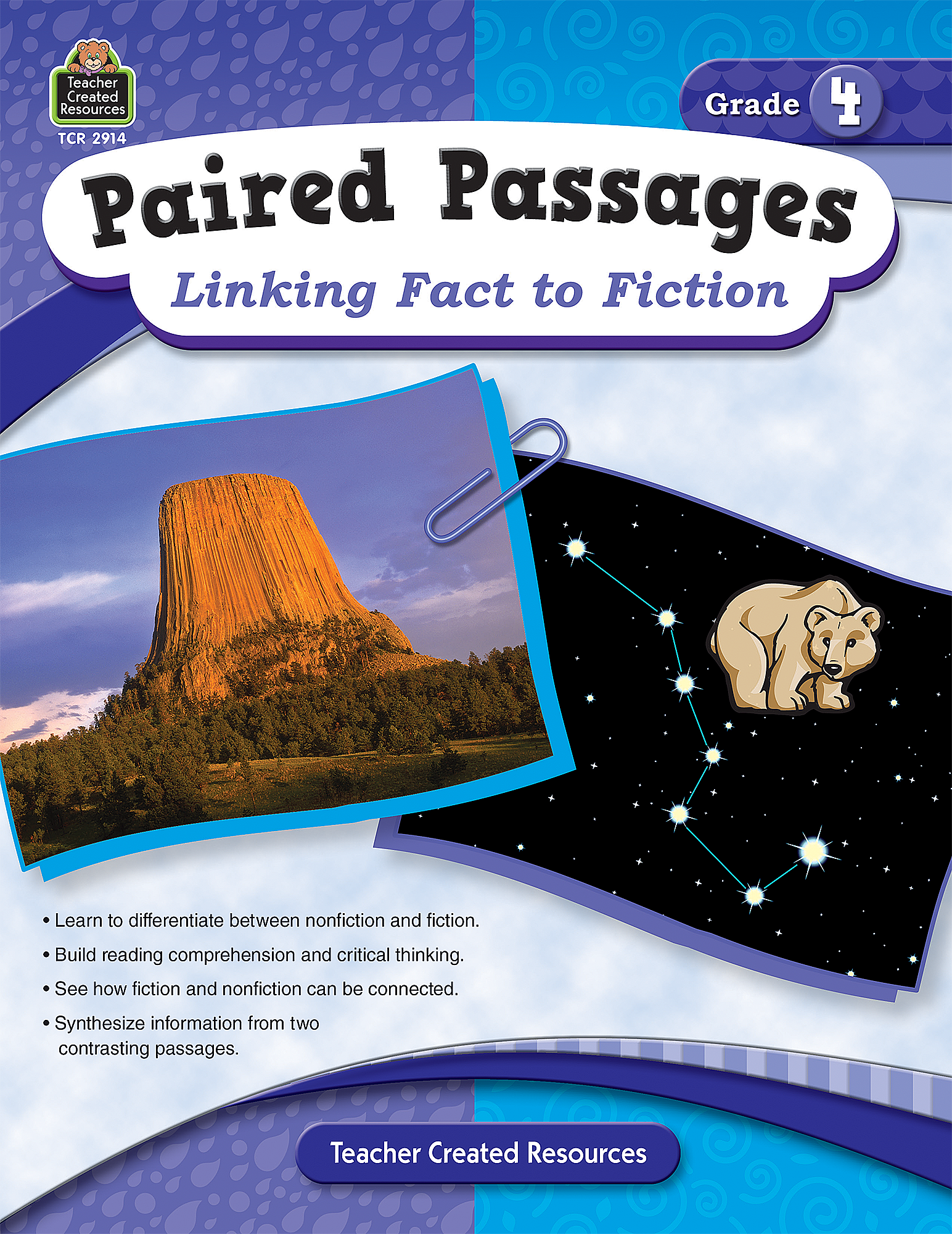 Paired Passages: Linking Fact to Fiction Grade 4 - TCR2914 ...