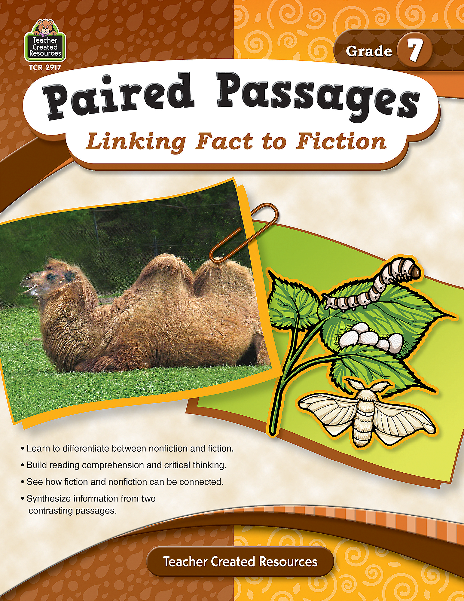 Paired Passages: Linking Fact to Fiction Grade 7 - TCR2917 ...