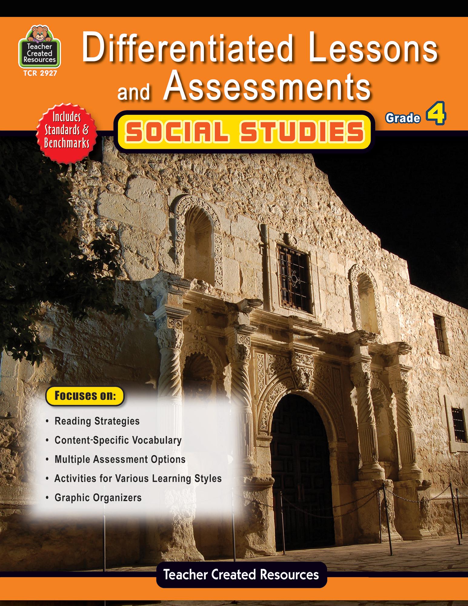 Social Studies Classroom Decorations ~ Differentiated lessons assessments social studies grade