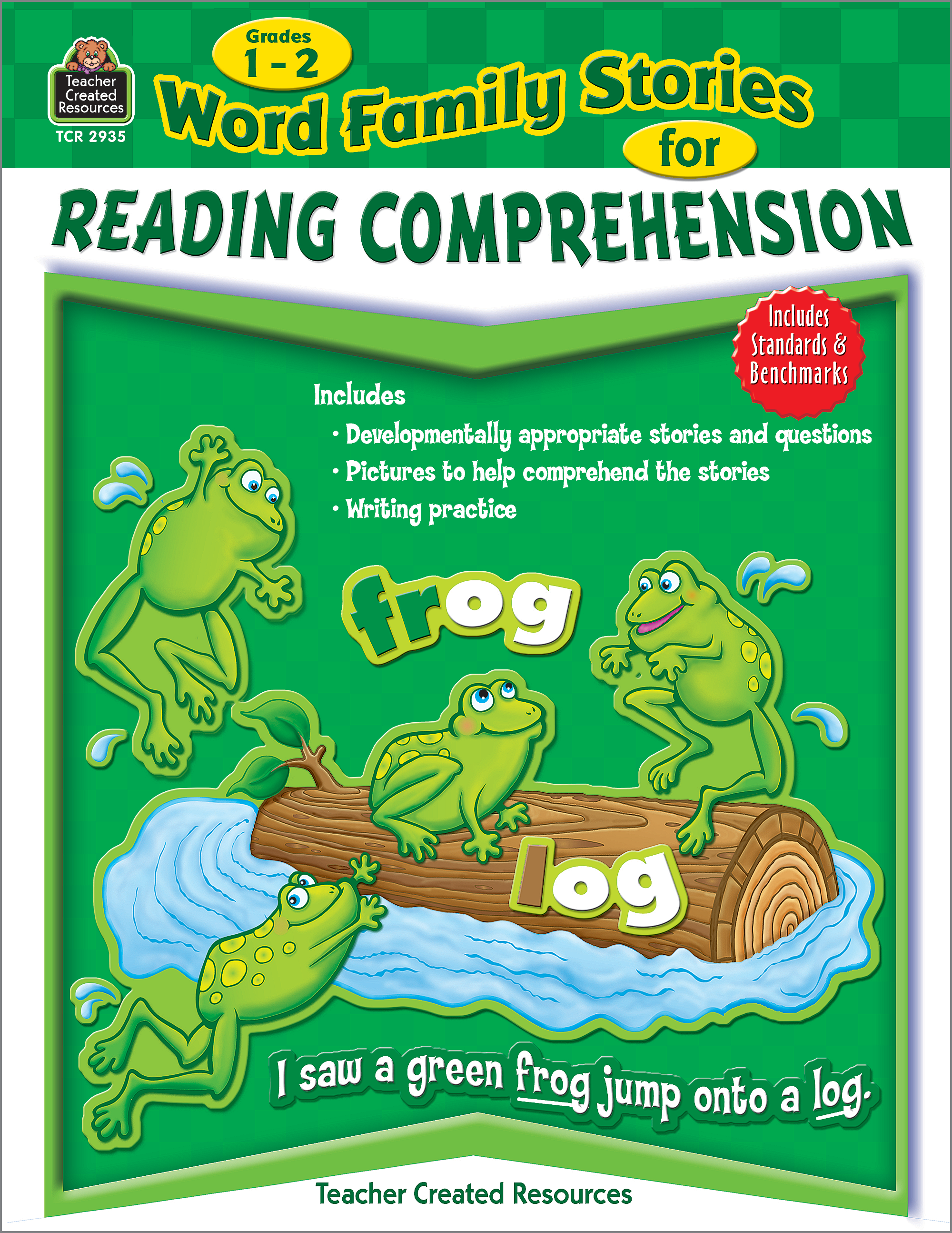 - Word Family Stories For Reading Comprehension Grade 1-2 - TCR2935