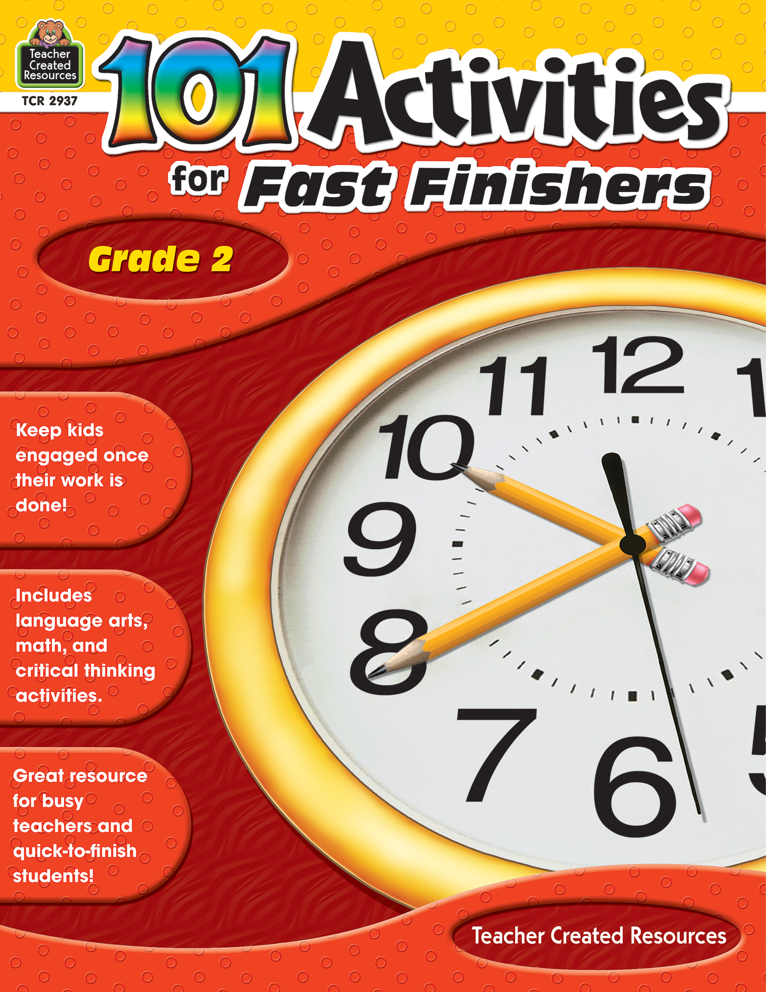 101 Activities For Fast Finishers Grade 2 - TCR2937 | Teacher Created  Resources