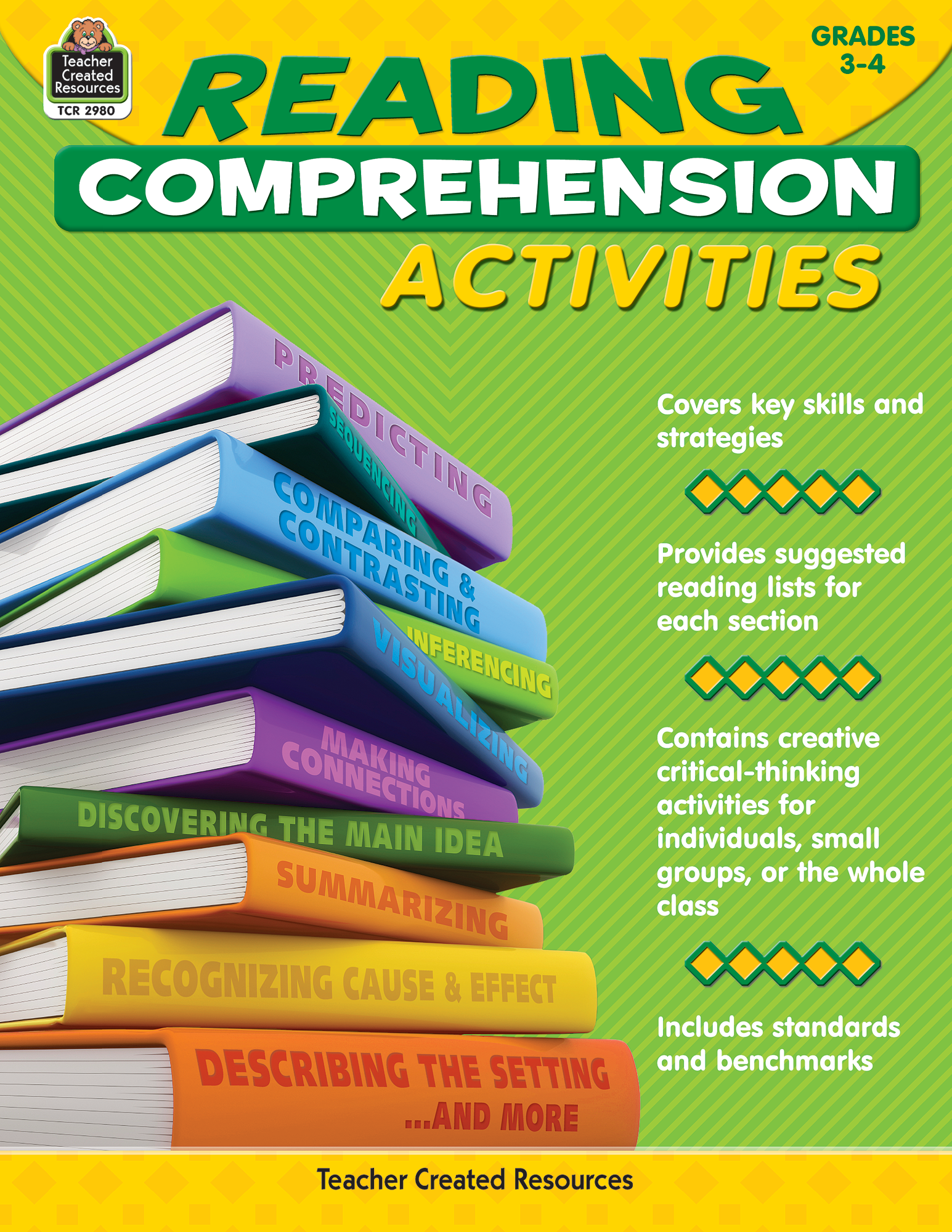 - Reading Comprehension Activities Grade 3-4 - TCR2980 Teacher