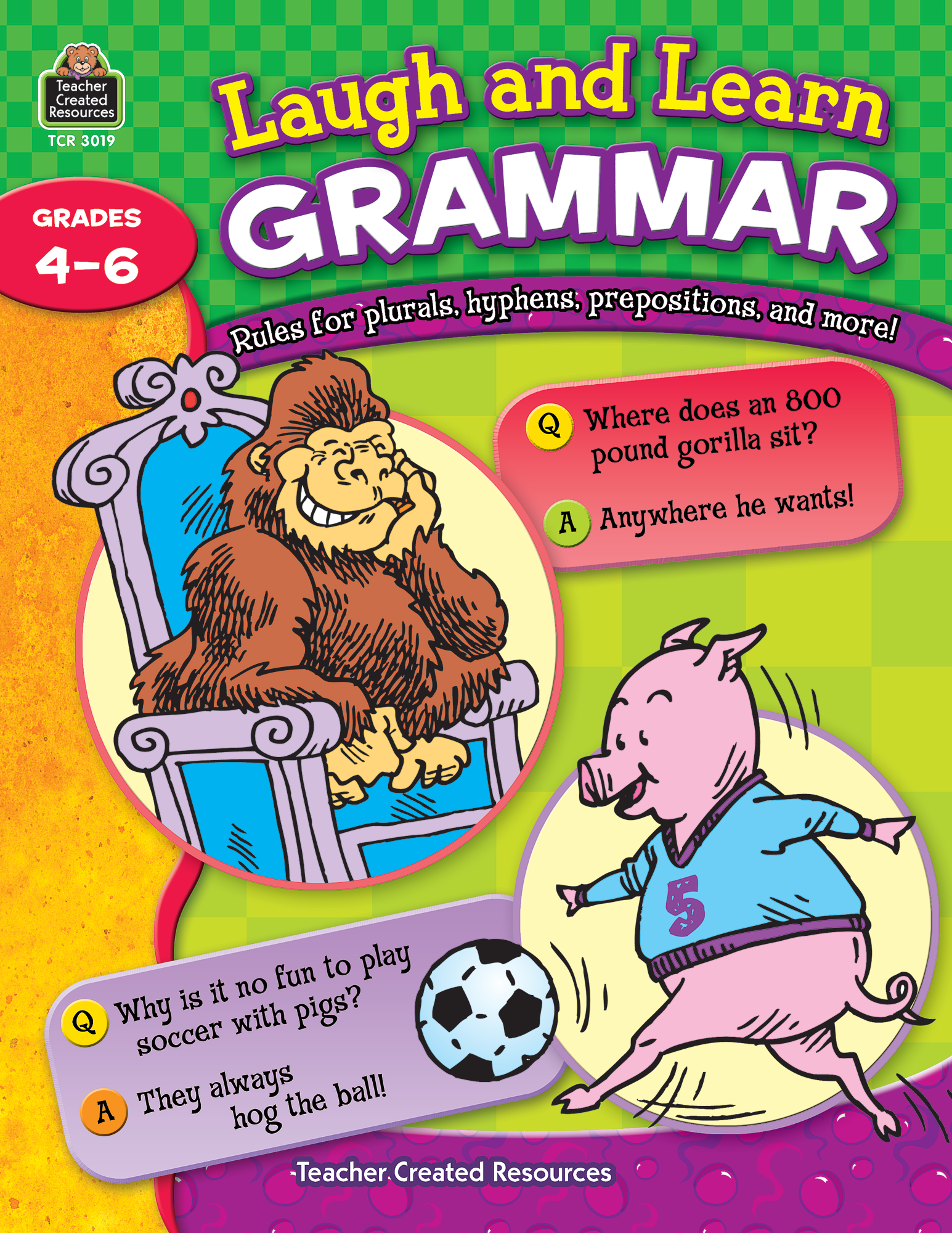 Laugh and Learn Grammar TCR3019 – Teacher Created Resources Inc Worksheets Answers