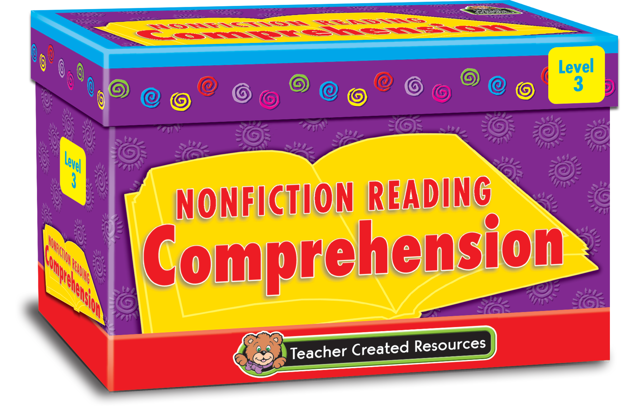 Worksheet Level 5 Reading Comprehension nonfiction reading comprehension cards level 5 tcr3057 3