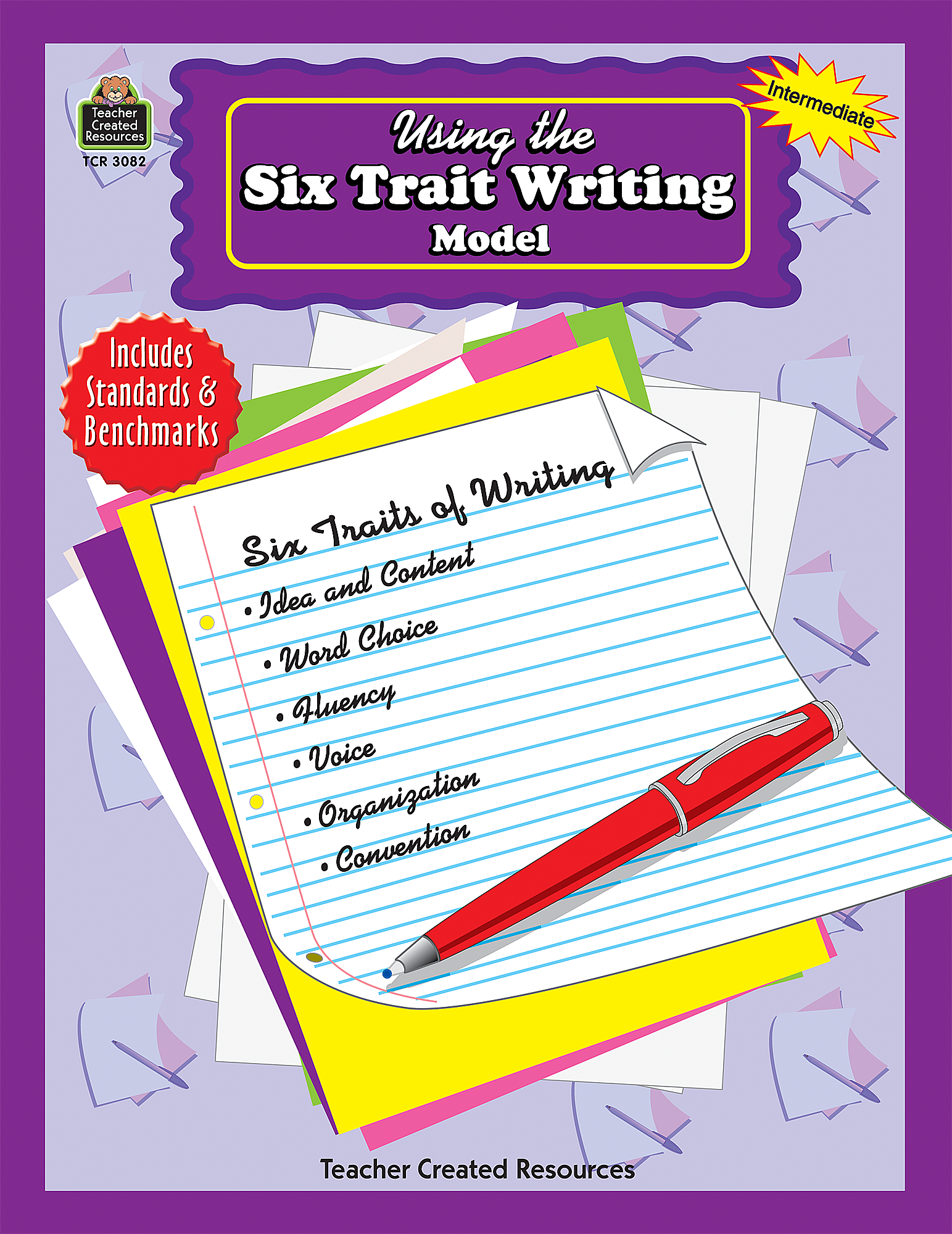 Classroom Review Ideas ~ Using the six trait writing model tcr teacher