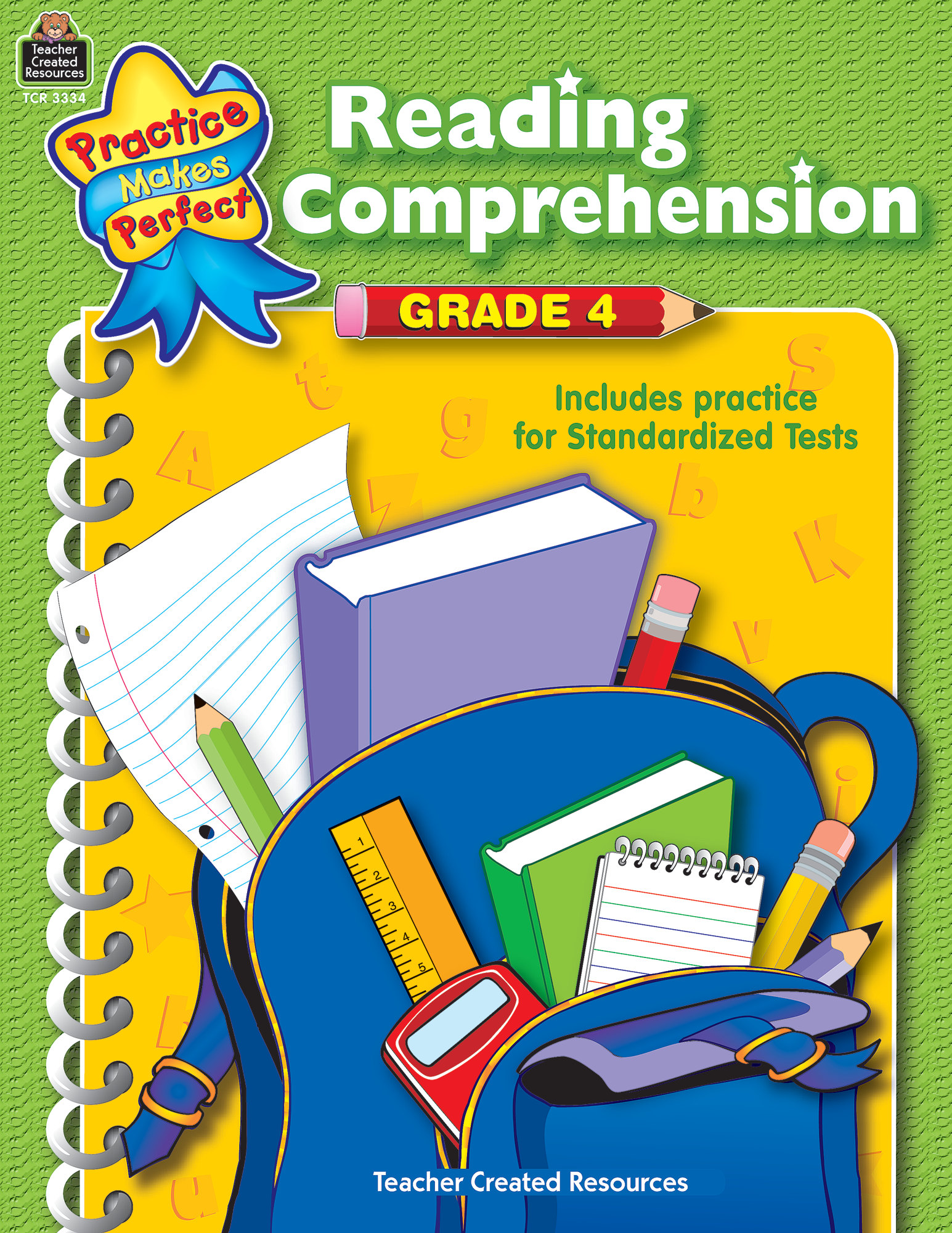 - Reading Comprehension Grade 4 - TCR3334 Teacher Created Resources
