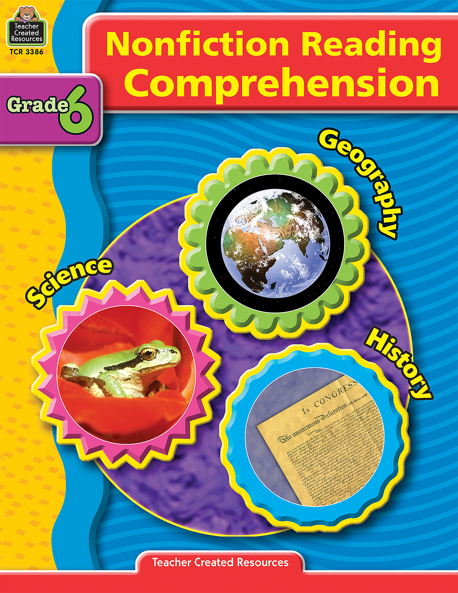 Nonfiction Reading Comprehension Grade 6 TCR3386 – Teacher Created Resources Inc Worksheets Answers