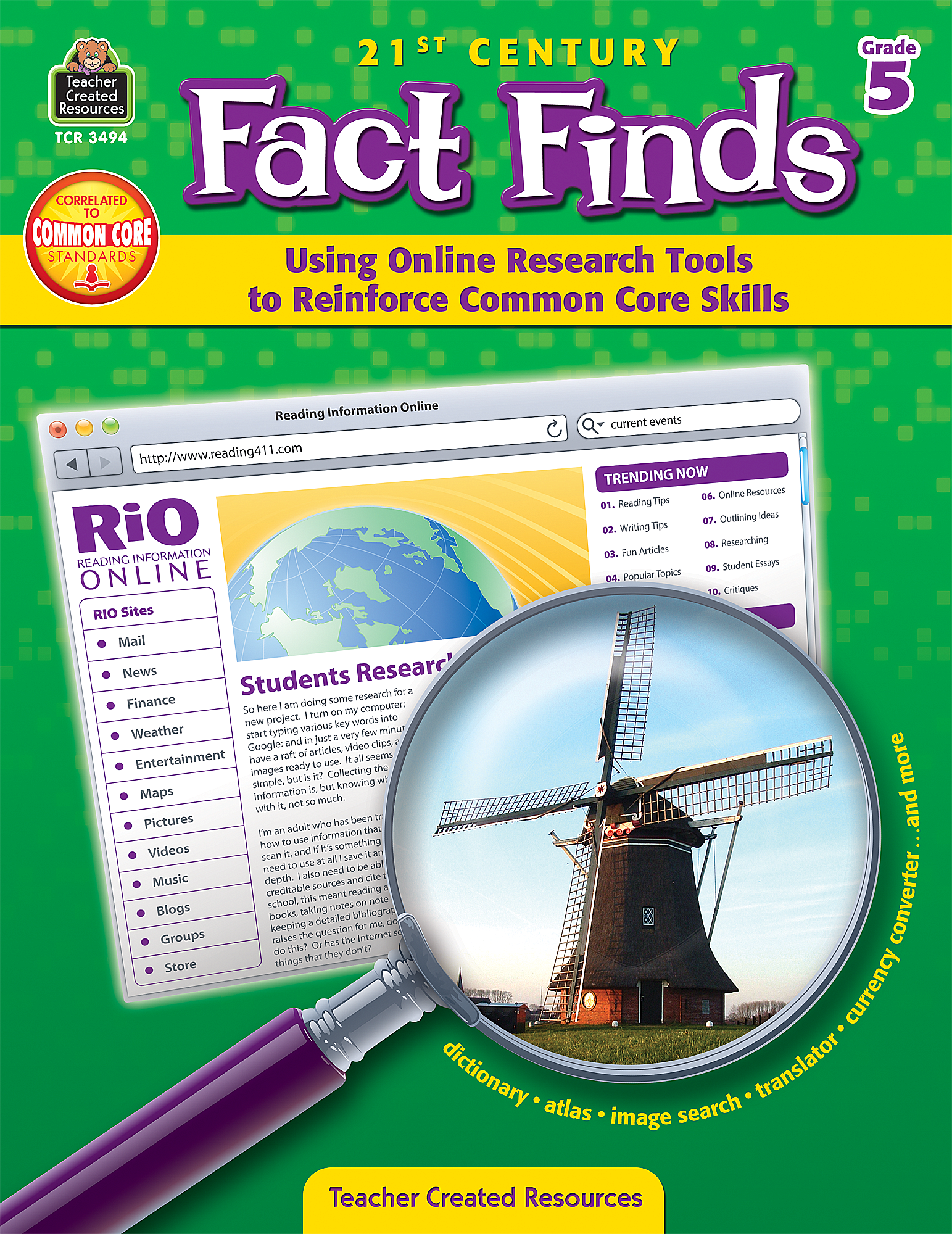 Worksheet Fact Online 21st century fact finds using online research tools to reinforce common core skills grade 5 tcr3494 products teacher