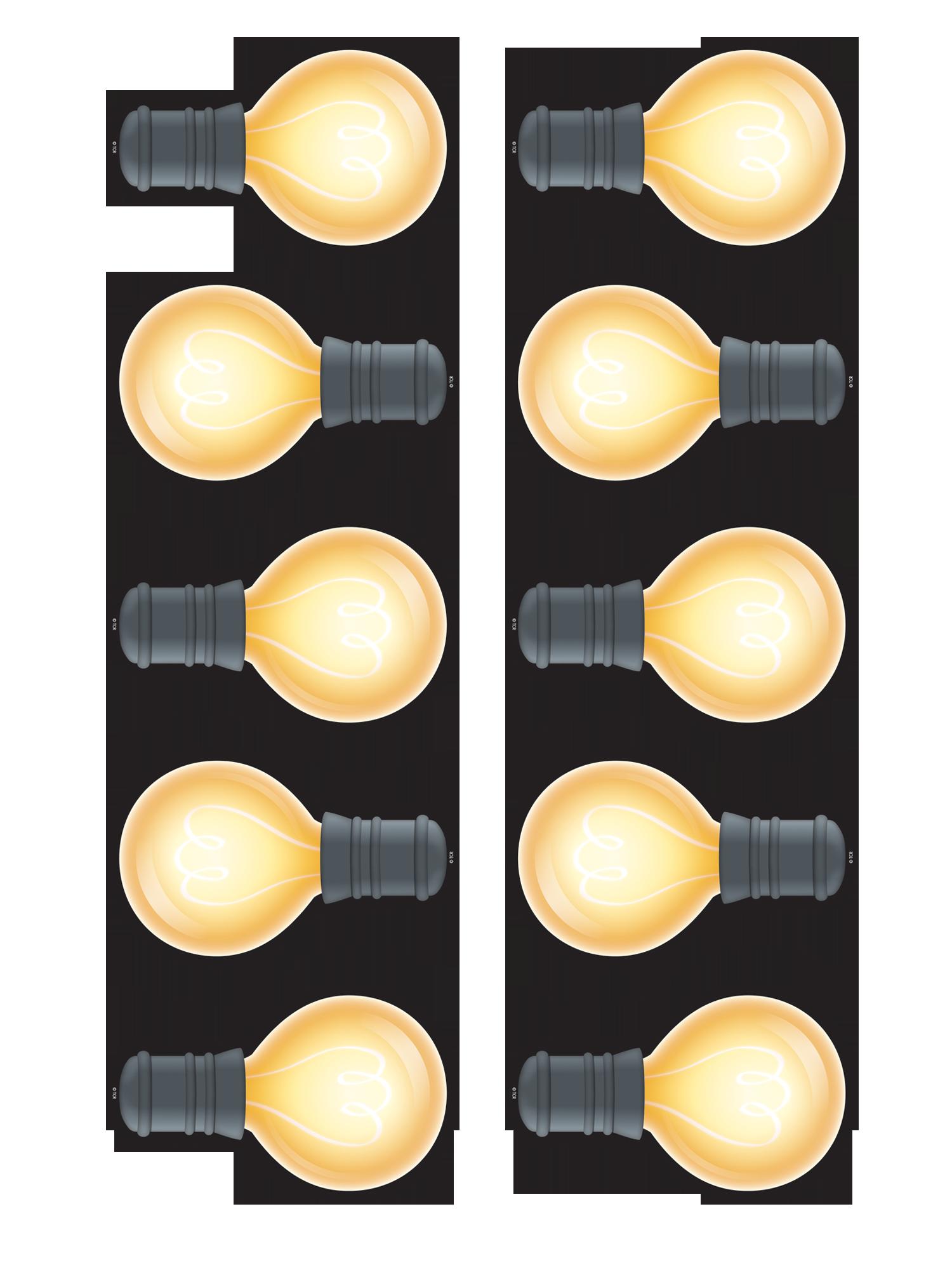 White Light Bulbs Accents Tcr3557 Teacher Created