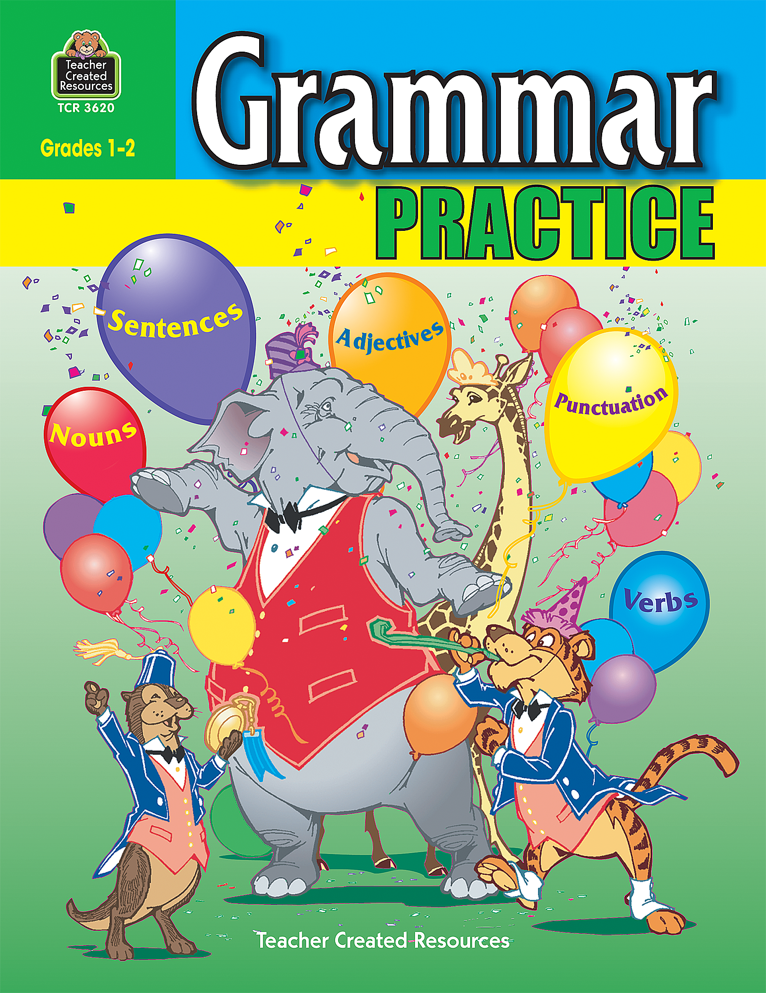 Grammar Practice for Grades 12 TCR3620 – Teacher Created Resources Worksheets