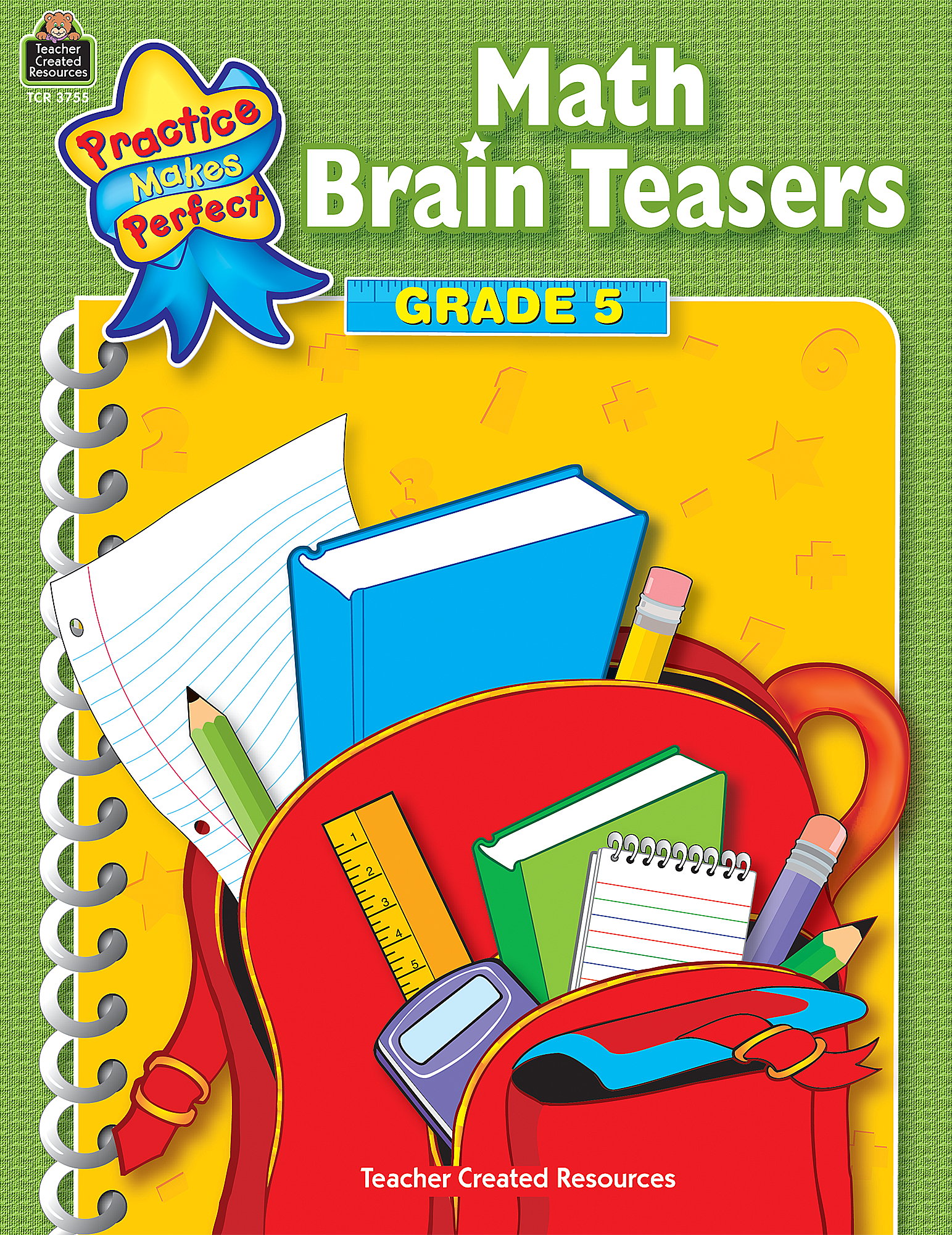 Math Brain Teasers Grade 5 TCR3755 – Teacher Created Resources Inc Worksheets Answers