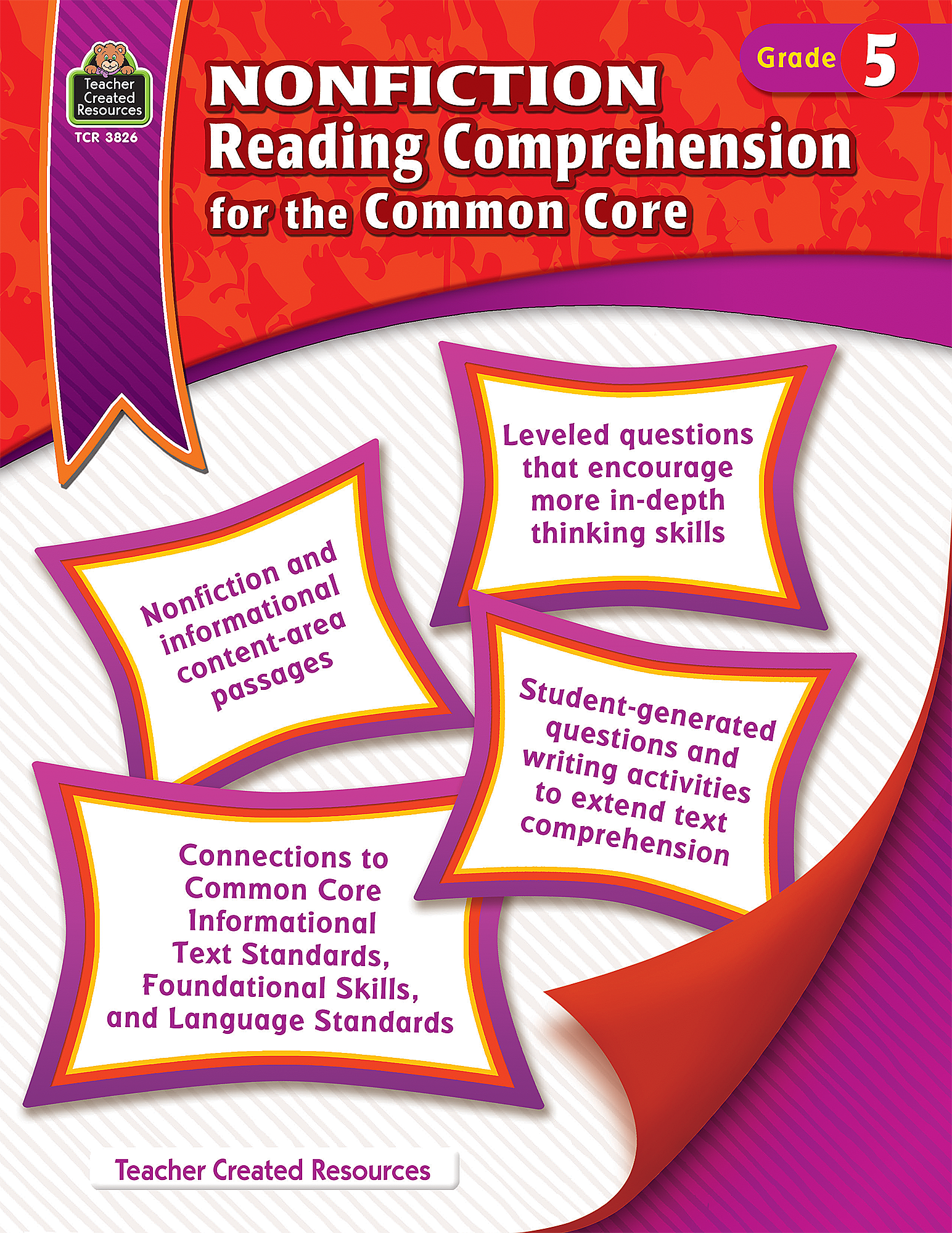 - Nonfiction Reading Comprehension For The Common Core Grade 5