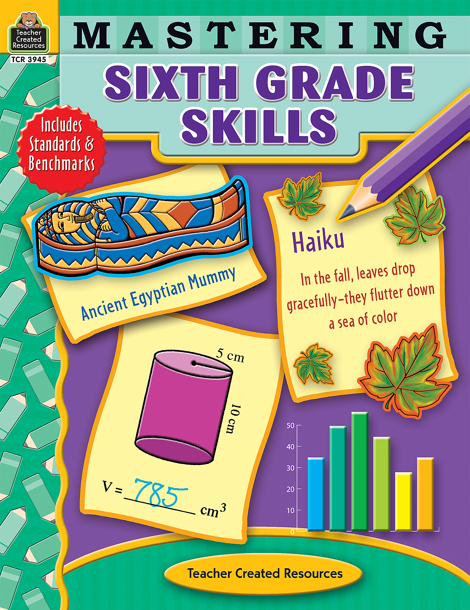 Mastering Sixth Grade Skills - TCR3945 | Teacher Created Resources