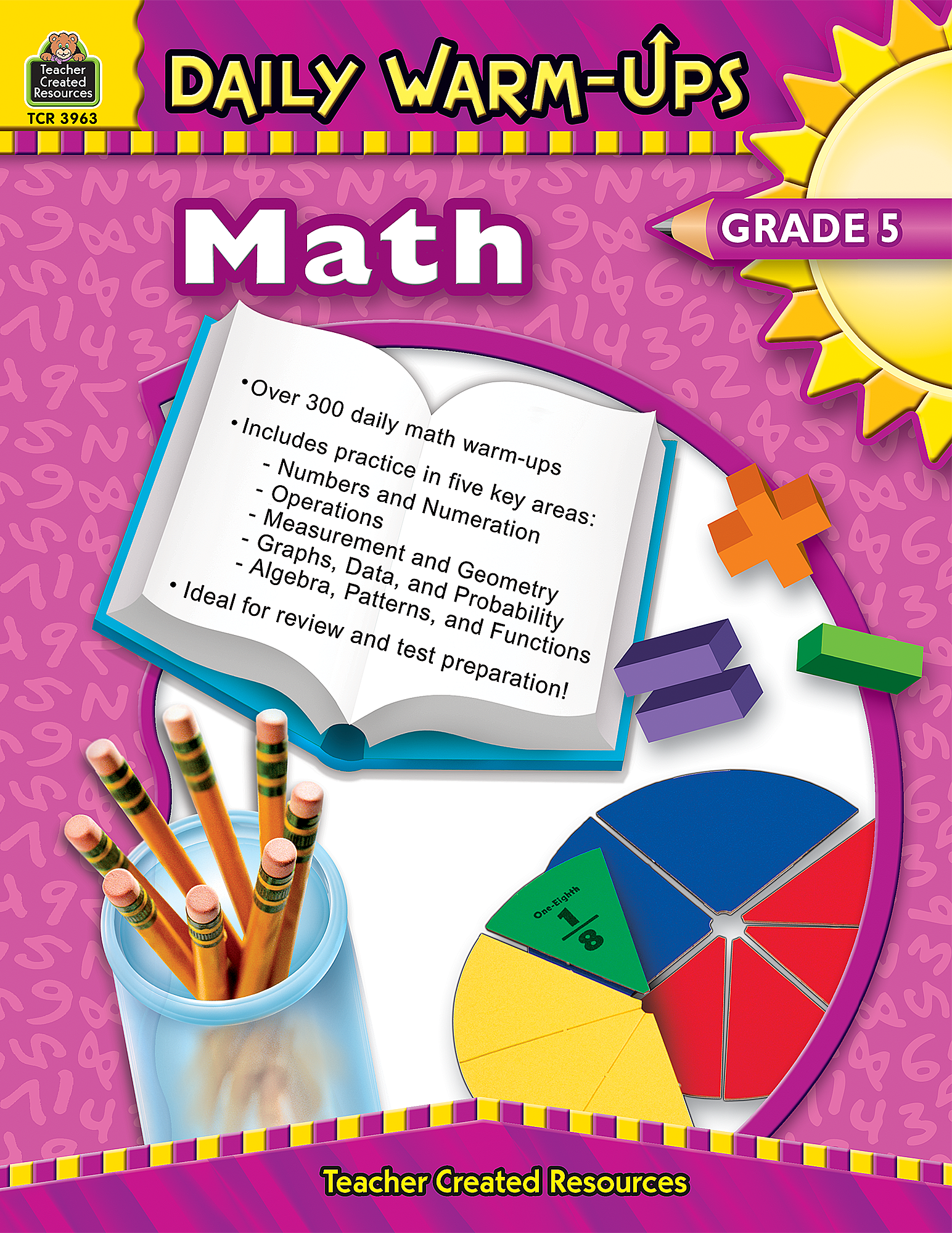Worksheet Math 5 daily warm ups math grade 5 tcr3963 products teacher created resources