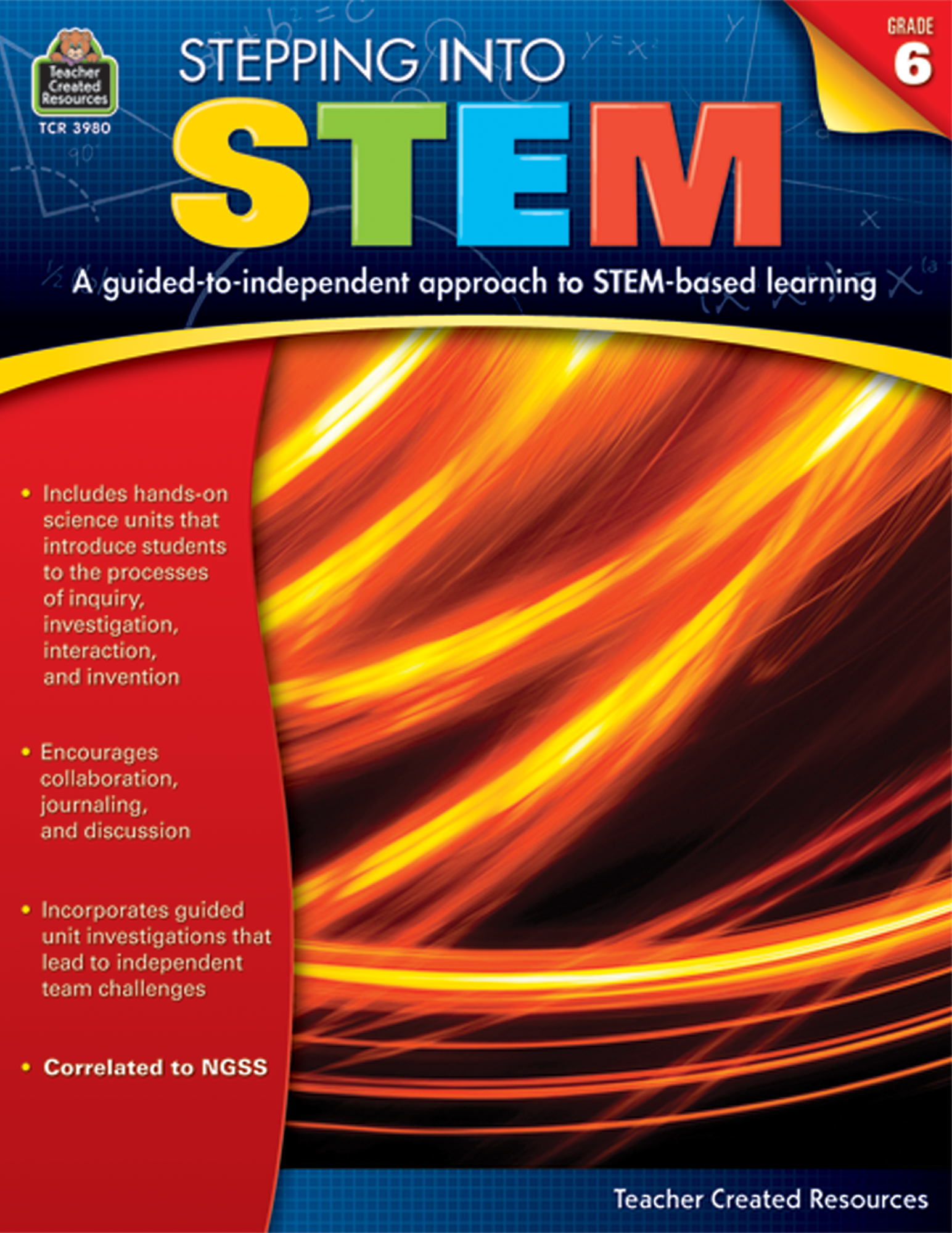 Stepping Into: Stepping Into STEM Grade 6 - TCR3980