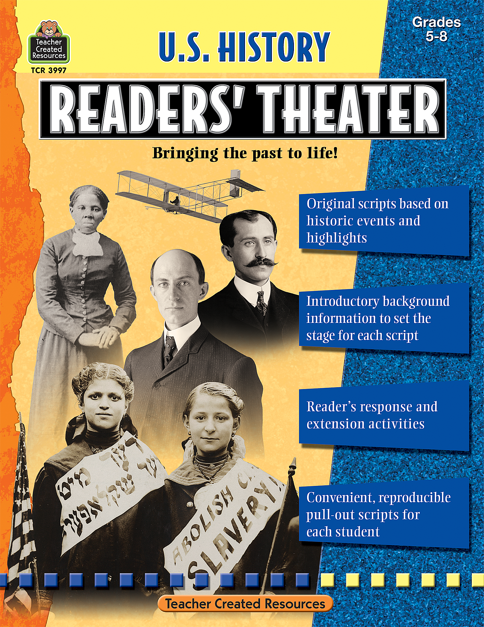 5th Grade History Questions: US History Readers' Theater Grade 5-8 - TCR3997