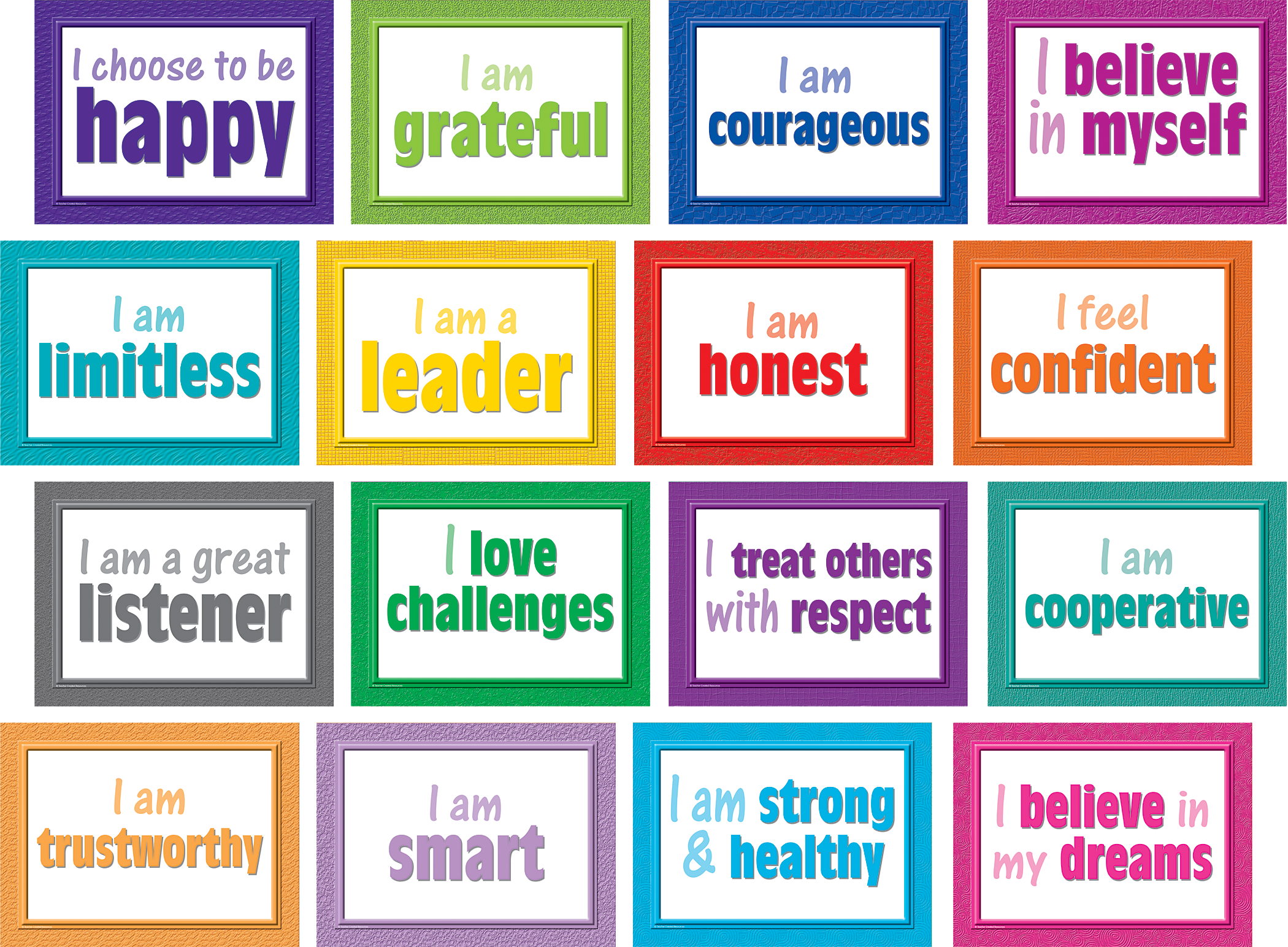 Positive Posters Bulletin Board Display Set Tcr5099 Teacher Created Resources