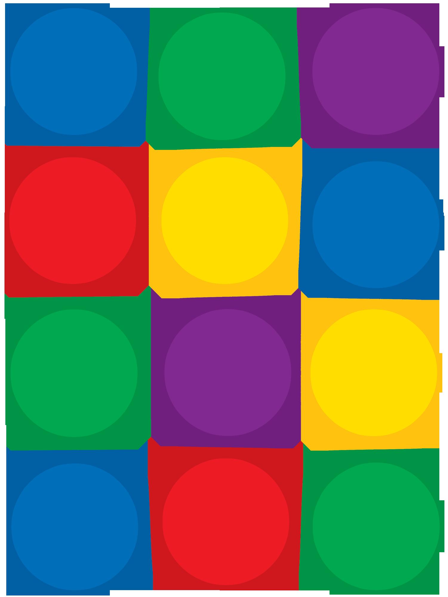картинка цветные кружочки на прозрачном фоне плата