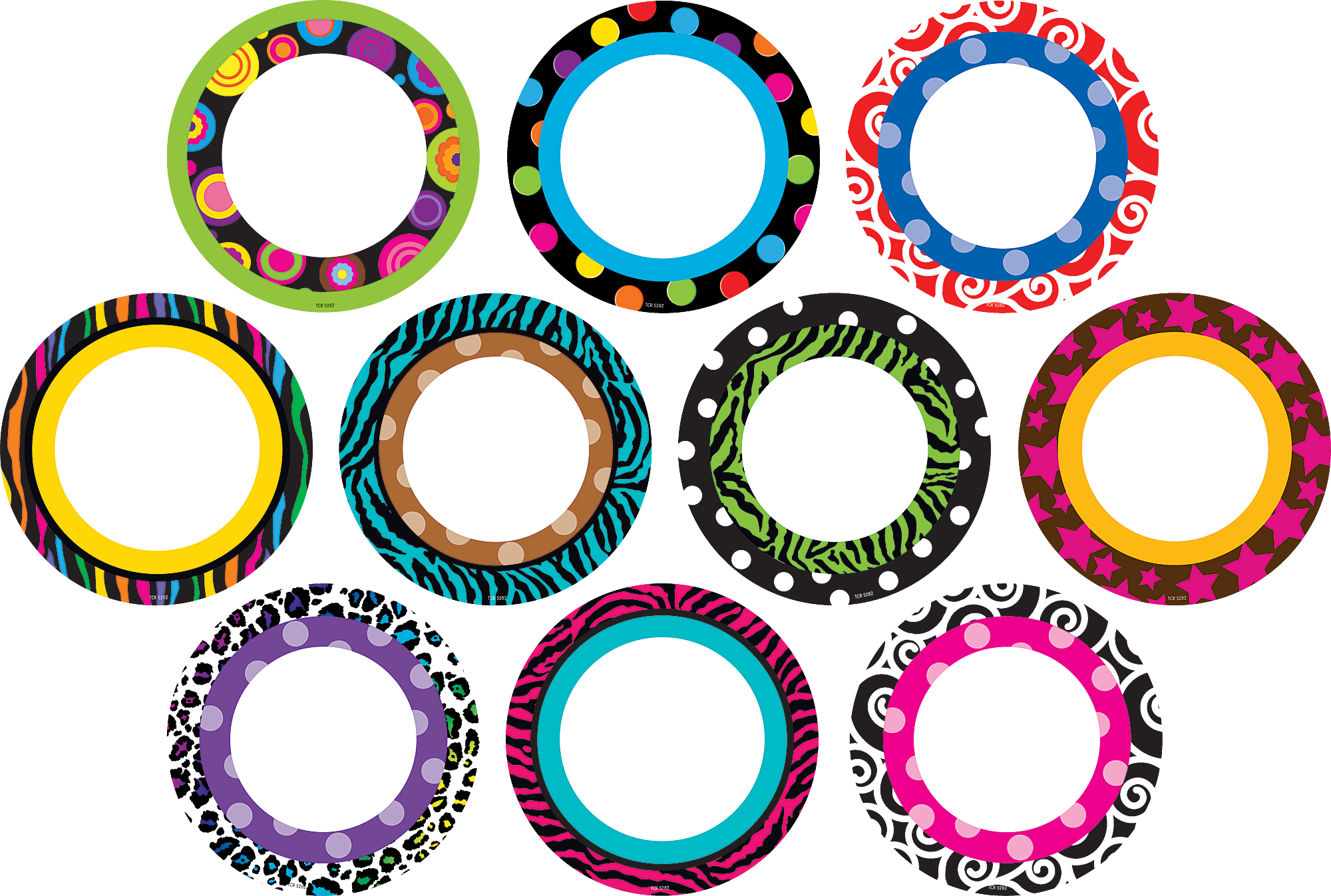 Classroom Decorations Bulletin Boards ~ Fancy circles accents tcr teacher created resources