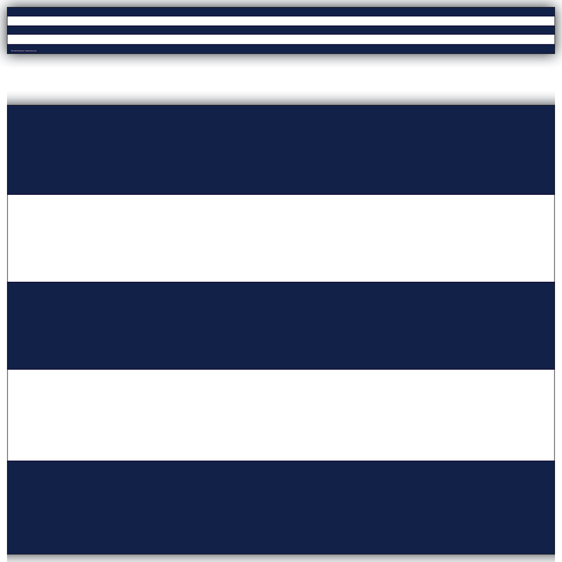 Navy Blue Amp White Stripes Straight Border Trim Tcr5289