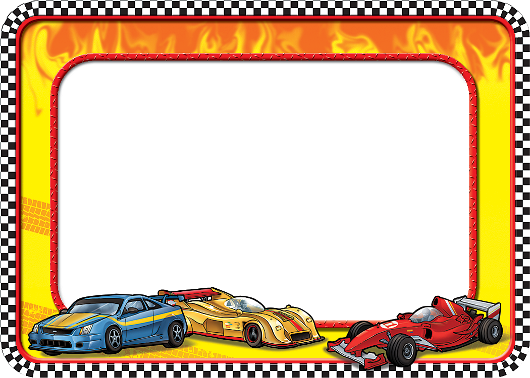 Race Cars Name Tags - TCR5310 | Teacher Created Resources