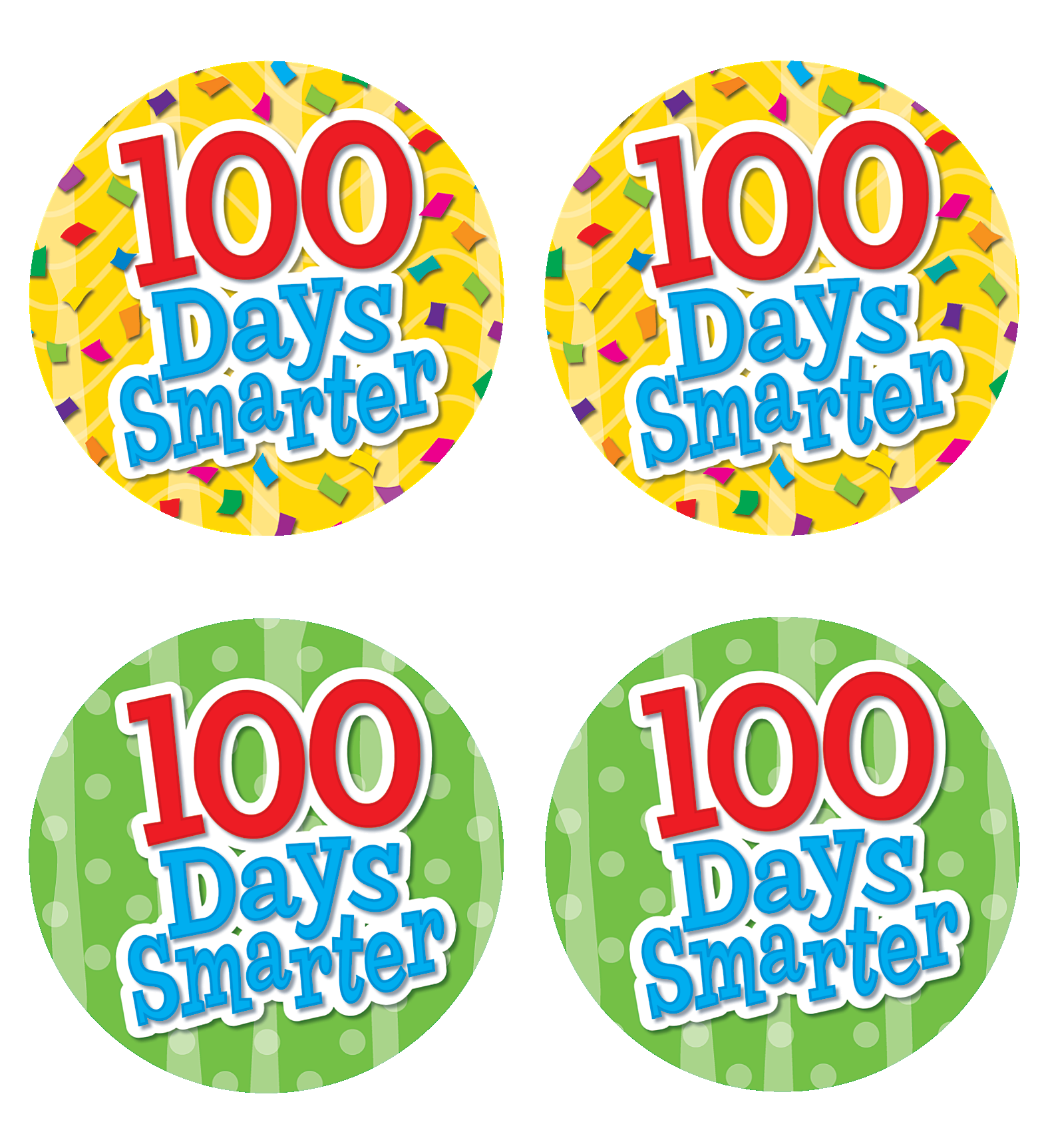 This is a graphic of Breathtaking 100 Days Smarter Printable
