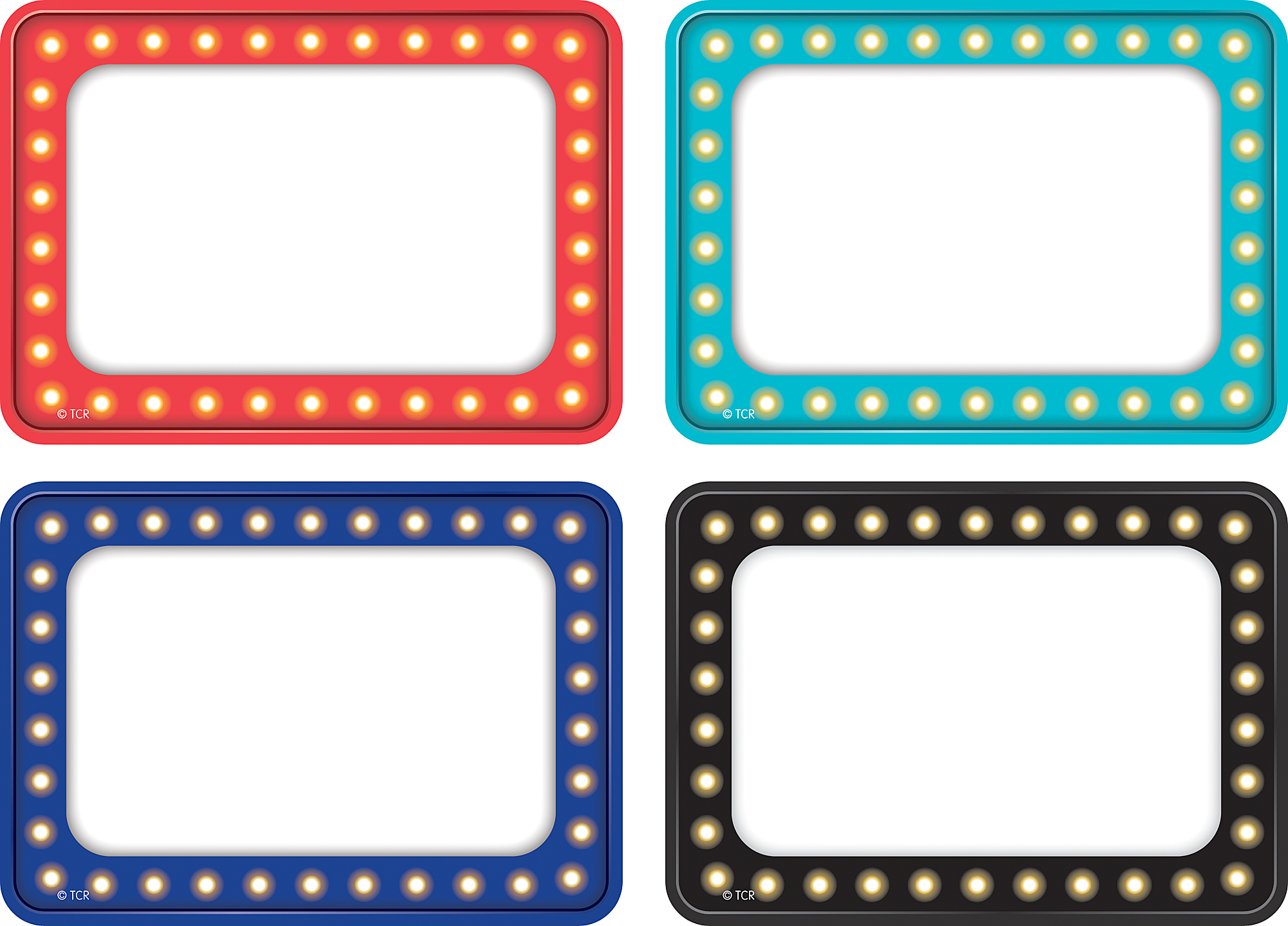 Marquee name tags labels multi pack tcr5433 teacher for Locker tag templates